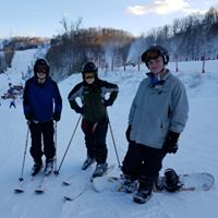 Winterplace Ski Trip, Jan 2017