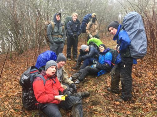 Big Hump Mountain Camping - Feb 2018