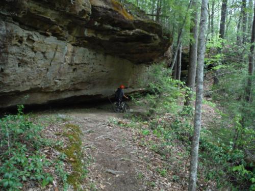 Biking and Camping at Big South Fork - Apr 2016