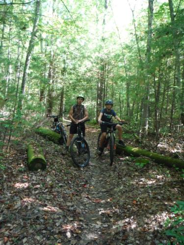 Biking at Big South Fork - Sep 2017