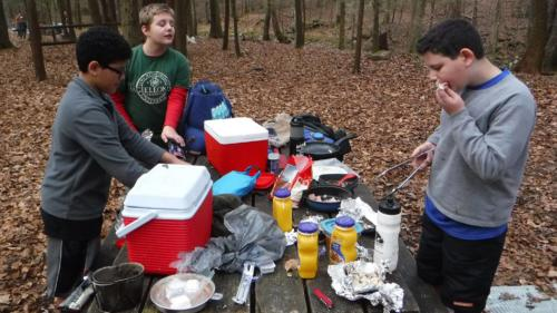 Camping at Frozen Head State Park - Dec 2015