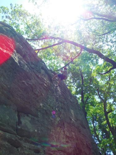 Climbing Trip at Black Mountain - May 2017