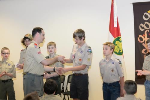 Court of Honor - May 2014