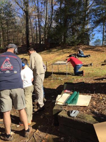 Family Gun Shoot at Mr Goodpasture's - Nov 2015