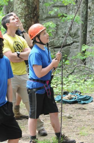 Rock Climbing Black Mountain - Jun 2016